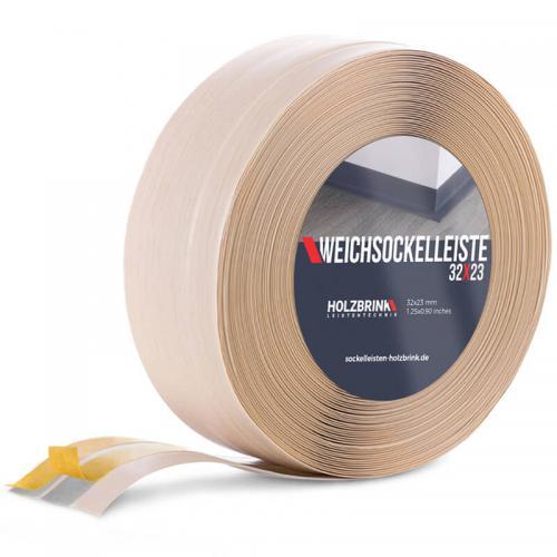 Listwa miękka przypodłogowa PVC sosna 32x23mm Holzbrink