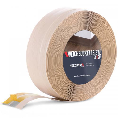 Listwa miękka przypodłogowa PVC sosna 50x20mm Holzbrink