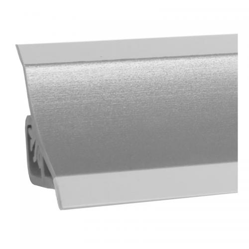 Listwa przyblatowa satynowe aluminium Holzbrink