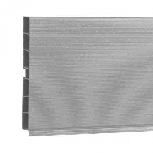 System cokołowy do mebli kuchennych HBK10 150 cm aluminium satynowe