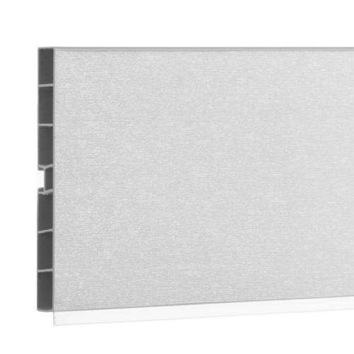 System cokołowy do mebli kuchennych HBK10 150 cm aluminium szczotkowane