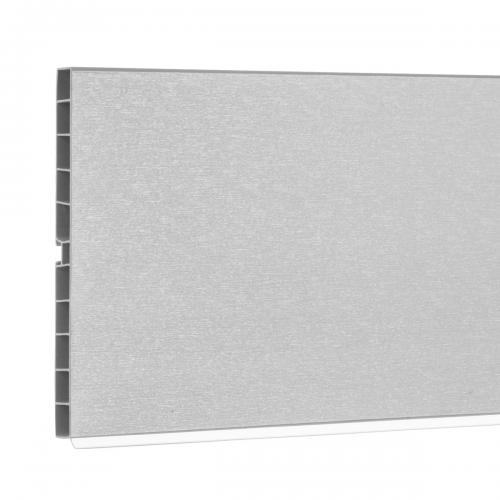 Cokół do mebli kuchennych HBK15 aluminum szczotkowane
